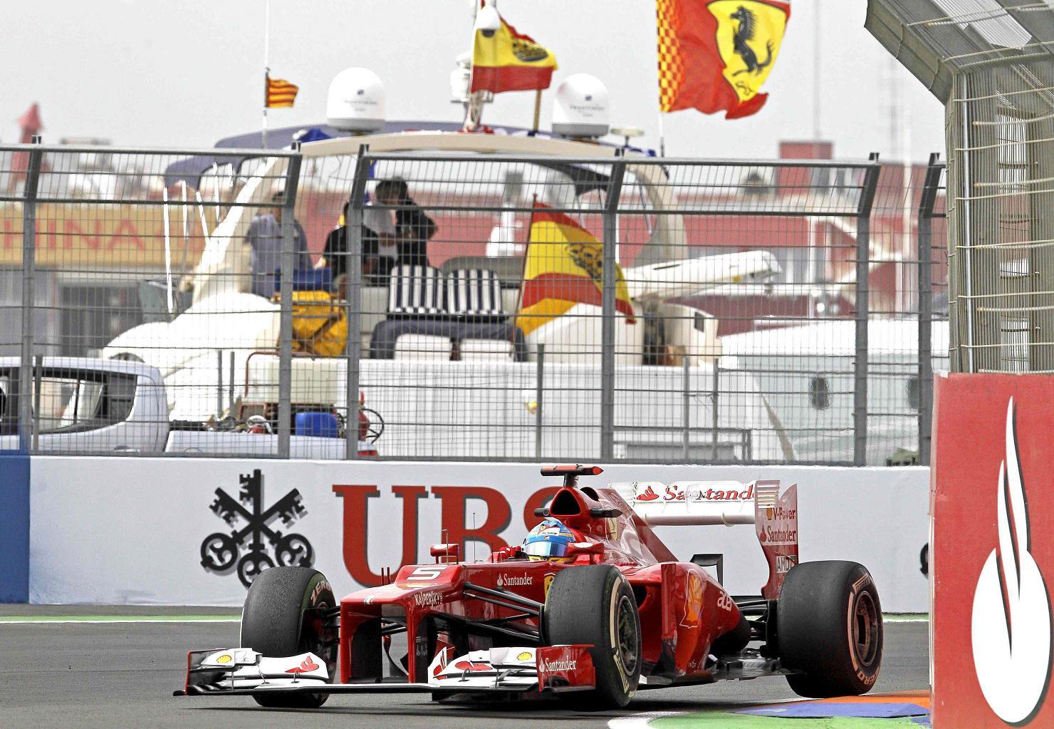 Alonso e la remuntada
