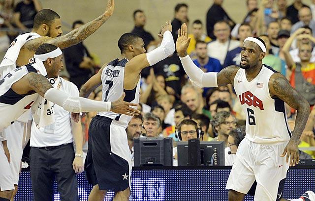 Il Team USA batte la Spagna nell'ultimo test
