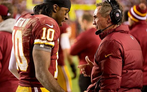 Capital problems: Washington Redskins