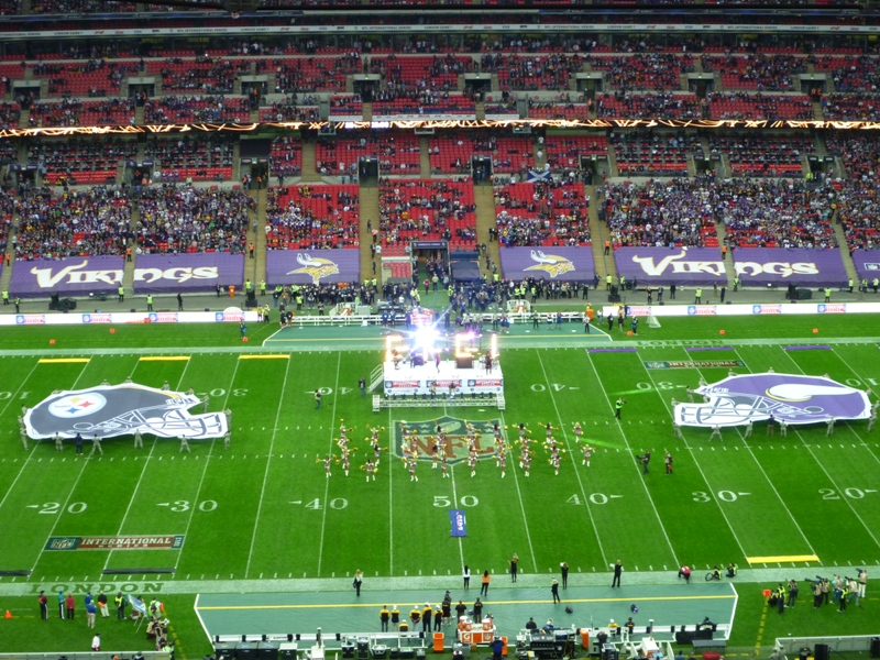 LONDON 2013: NFL IS BACK!!
