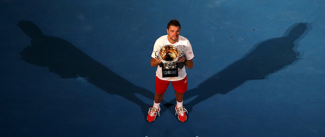 Tennis: Stan Wawrinka, re per una notte