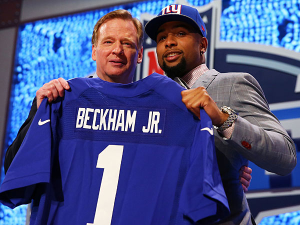 New York Giants grade: B+