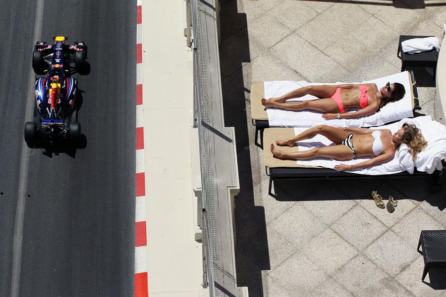 Vince Webber alla roulette del Grand Prix de Monaco