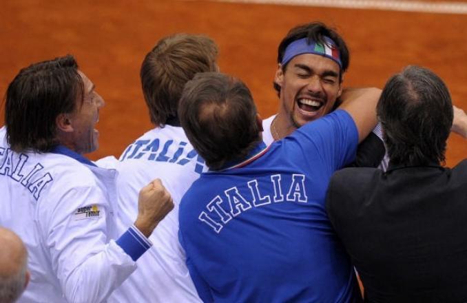 Tennis, la Coppa Davis e un'impresa a metà